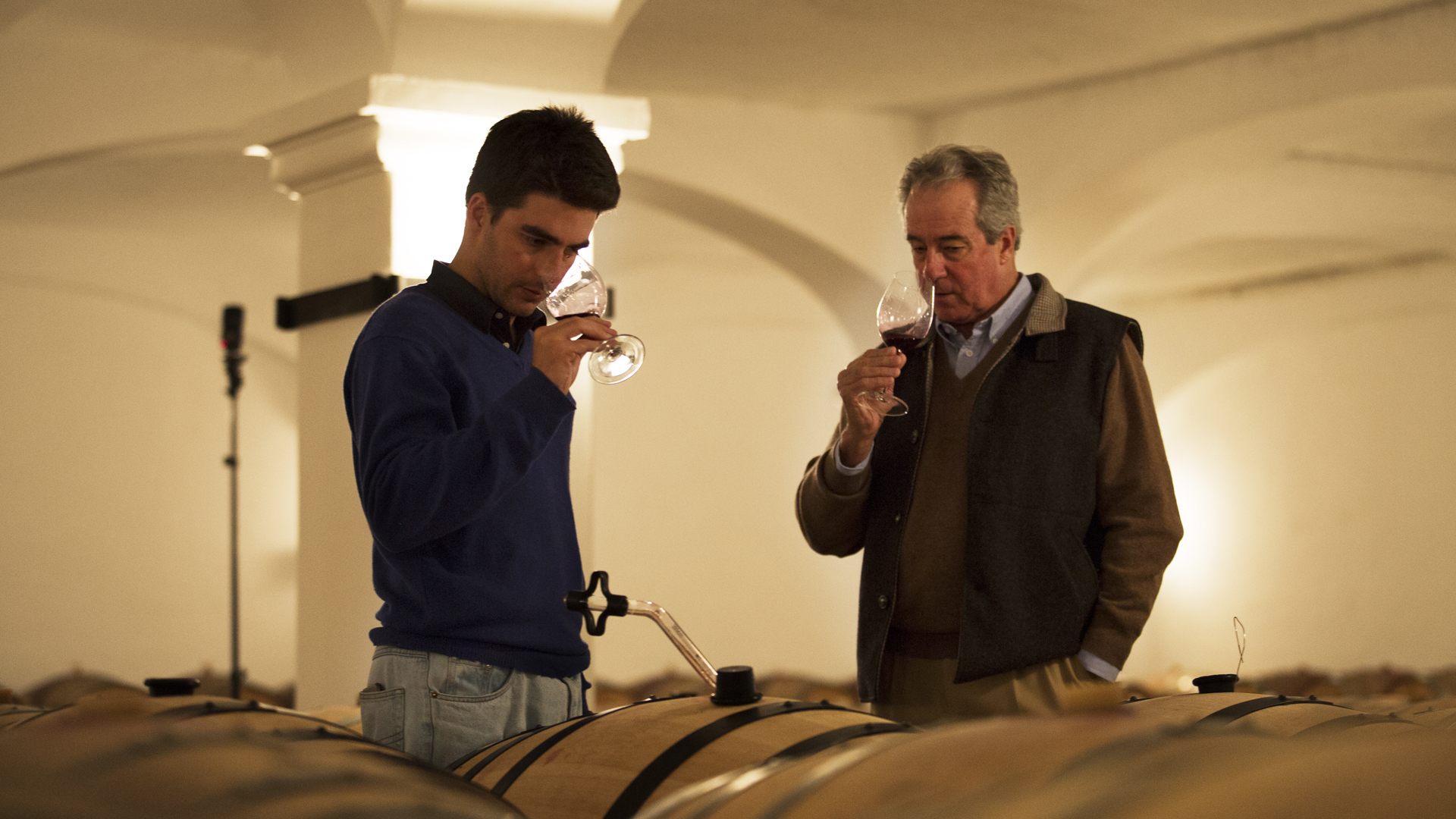 The Winemakers João Portugal Ramos and João Maria, father and son