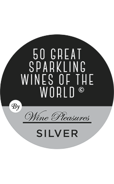 50 Great Sparkling Wines Of The World 2017 - 92 PTS, Silver